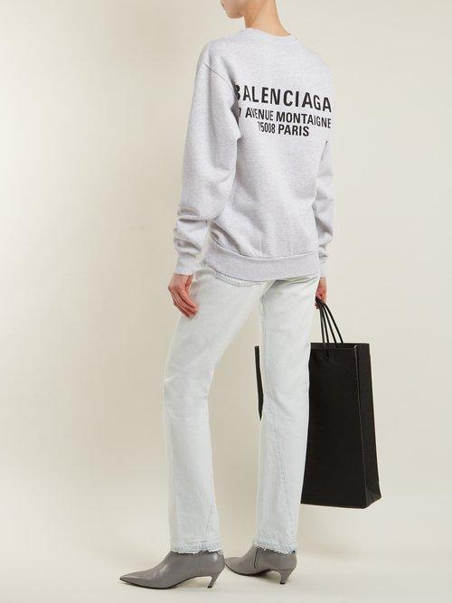 Logo sweatshirt by Balenciaga