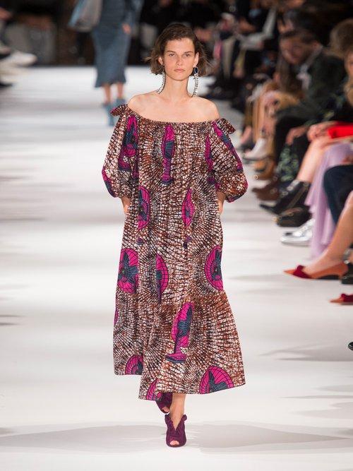 Jeny graphic-print cotton dress by Stella Mccartney