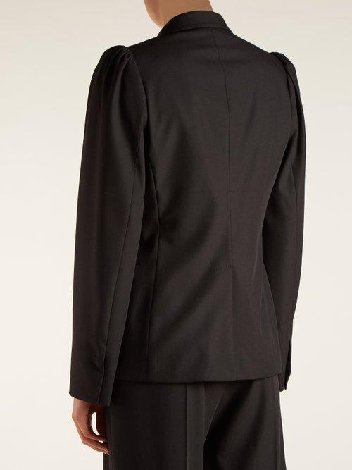 Salma peak-lapel wool blazer by Stella Mccartney