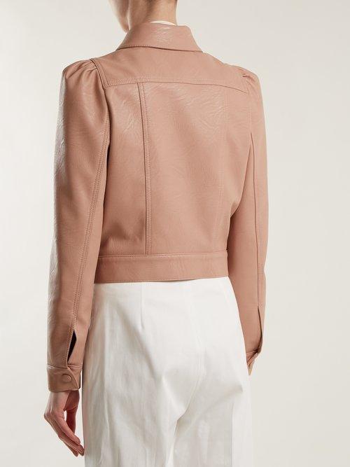 Emmalee cropped jacket by Stella Mccartney