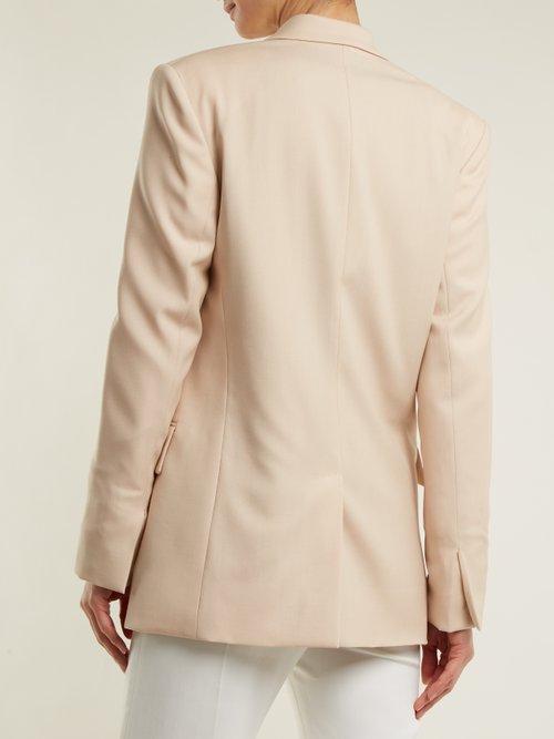 Photo of Damaris wool-blend blazer by Stella Mccartney - shop Stella Mccartney jackets and coats sales