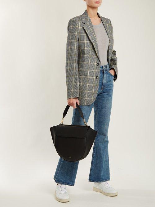 Johnny round-neck cashmere and silk-blend T-shirt by Frances De Lourdes