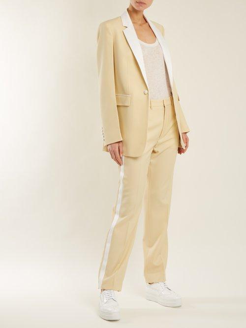 Patti round-neck cashmere and silk-blend tank top by Frances De Lourdes