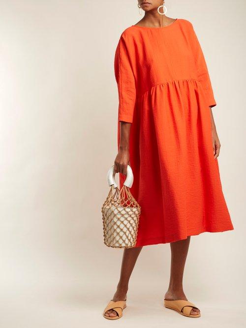 Oust Cotton Blend Dress by Rachel Comey