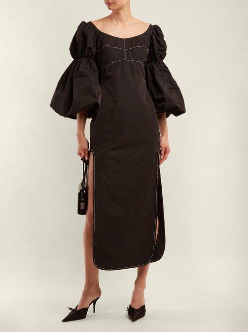 Sky High bubble-sleeve dress by Ellery