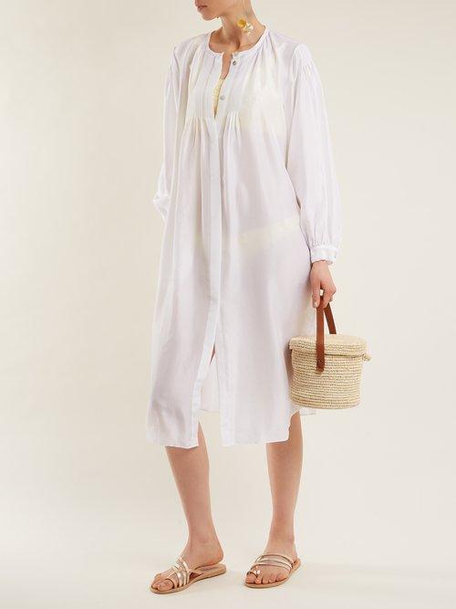 Corona Silk Shirtdress by Loup Charmant