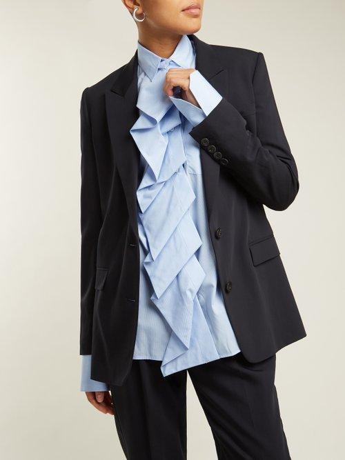 Single Breasted Wool Blend Jacket by Summa