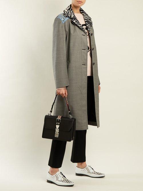 Elektra leather bag by Prada