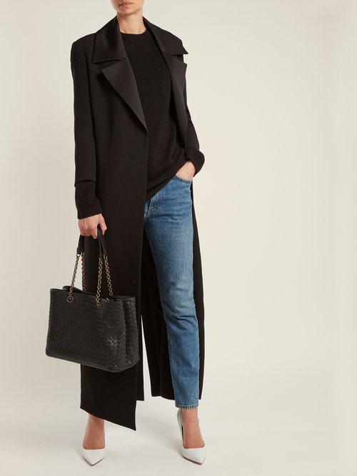 Intrecciato medium leather tote by Bottega Veneta