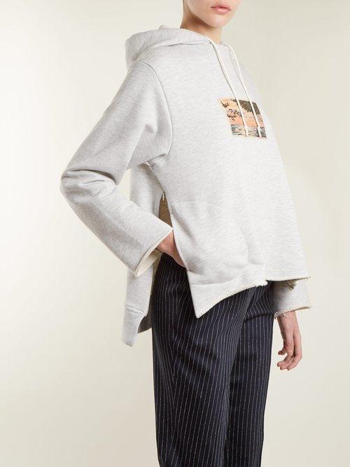 Sirrah graphic-print hooded sweatshirt by Golden Goose Deluxe Brand