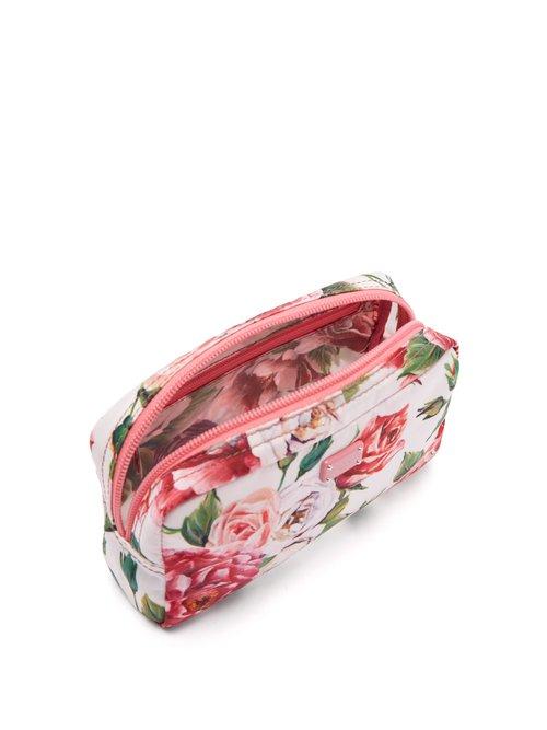 Floral-print make-up bag by Dolce & Gabbana