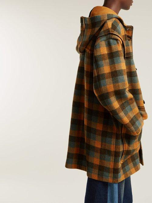 Double Face Wool Duffle Coat by Mm6 Maison Margiela