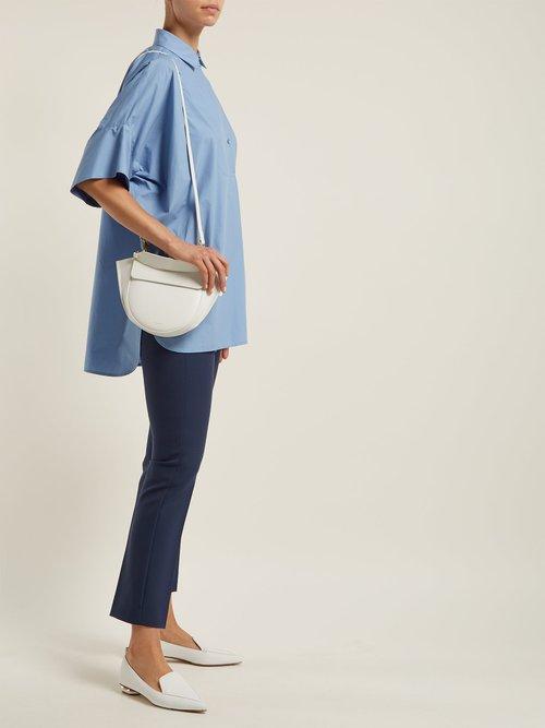 Carole cotton-poplin shirt by Weekend Max Mara