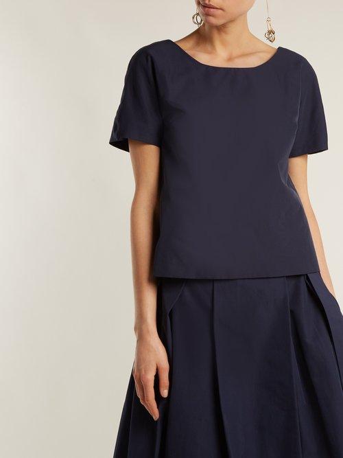 V-back short-sleeved top by Weekend Max Mara