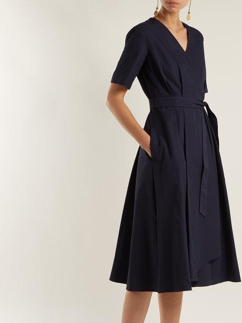 Shop Weekend Max Mara Gene wrap dress online sale