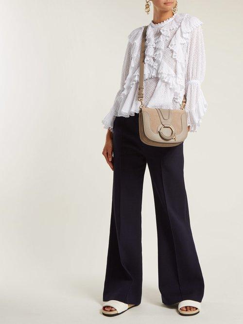 Hana small leather cross-body bag by