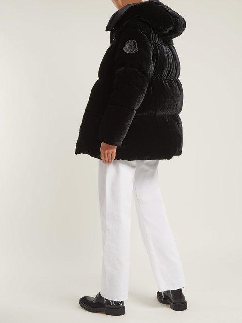 Butor Velvet Down Filled Jacket by Moncler