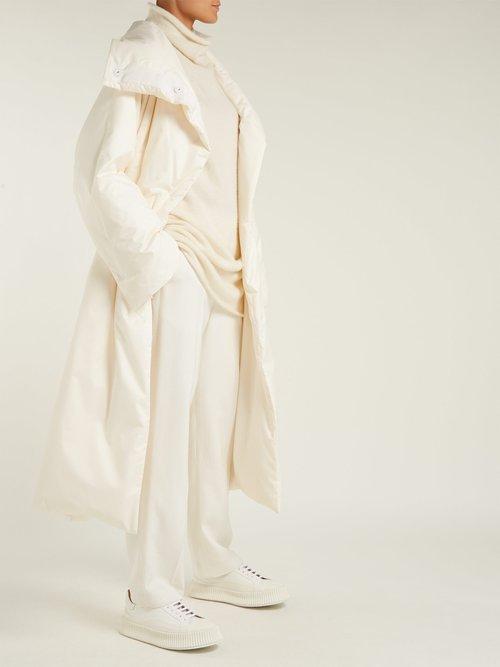 Long Line Down Filled Coat by Jil Sander