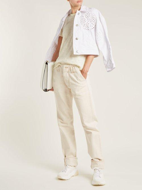 Schoolboy cotton slub-jersey T-shirt by Atm
