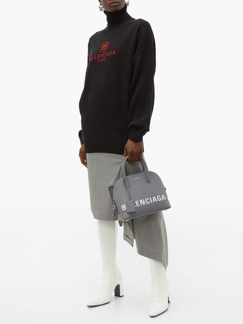 Ville S leather bag by Balenciaga