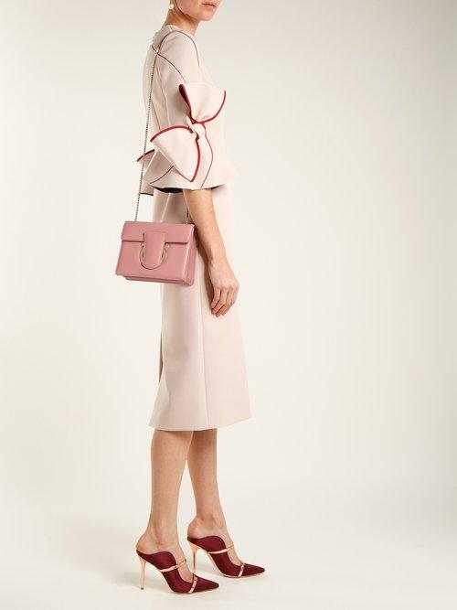 Thalia leather cross-body bag by Salvatore Ferragamo