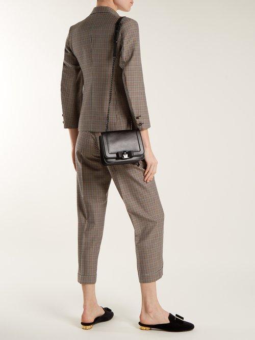 Vara leather cross body bag by Salvatore Ferragamo