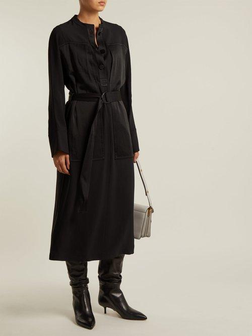 Antonia knee-high leather boots by Samuele Failli