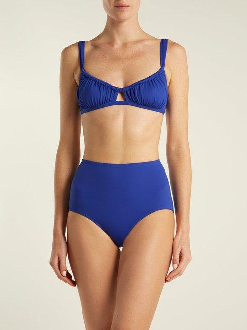 Bridget high-waisted bikini bottoms by Three Graces London