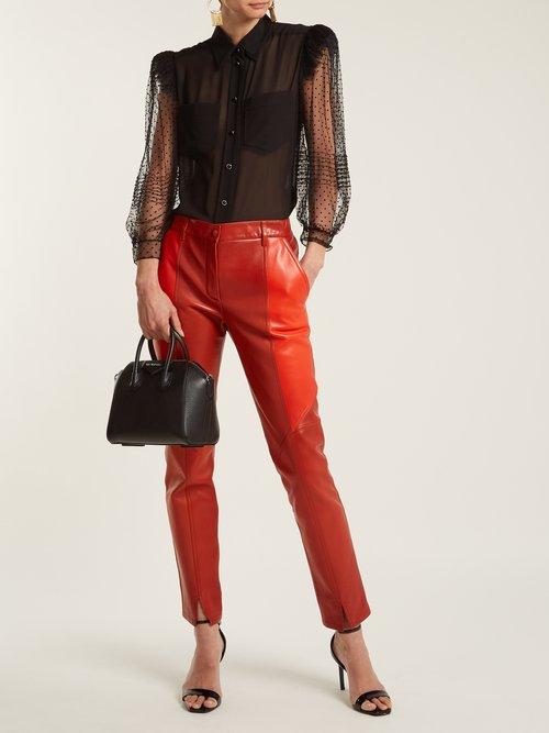 Antigona mini leather cross-body bag by Givenchy