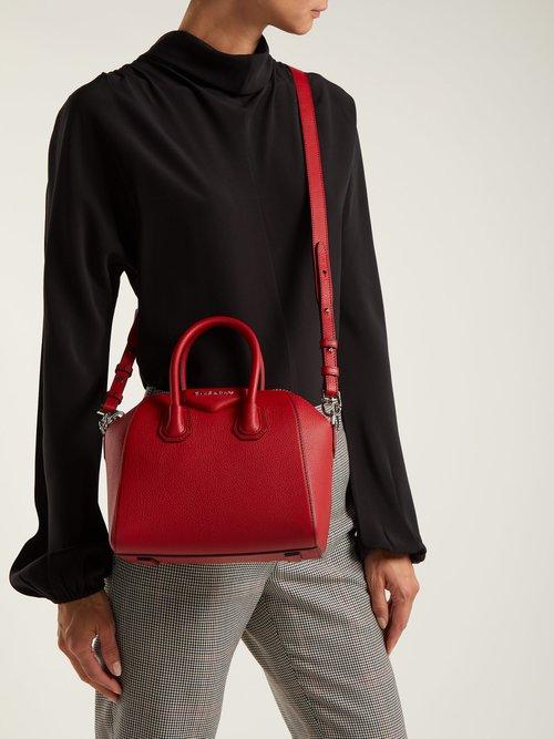 Antigona mini grained-leather cross-body bag by Givenchy