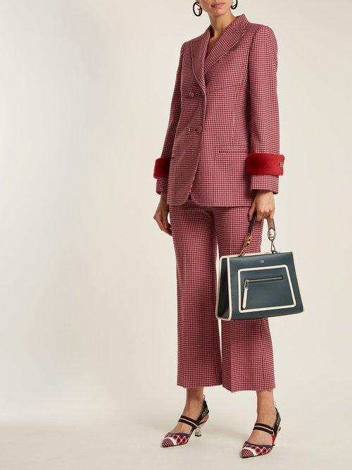 Runaway leather bag by Fendi