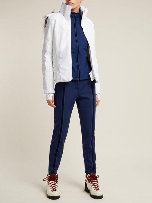 Logo Stretch Jersey Jacket by Fendi