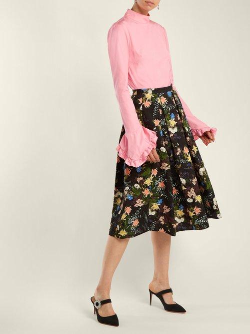 Lindsay cotton blouse by Erdem