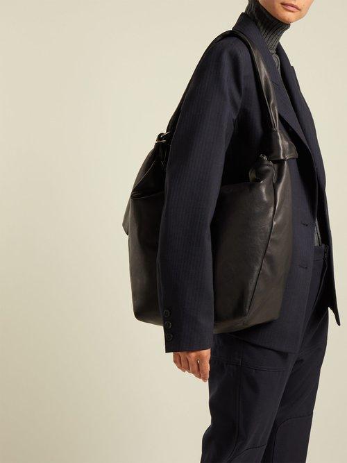Eewa leather shoulder bag by Isabel Marant