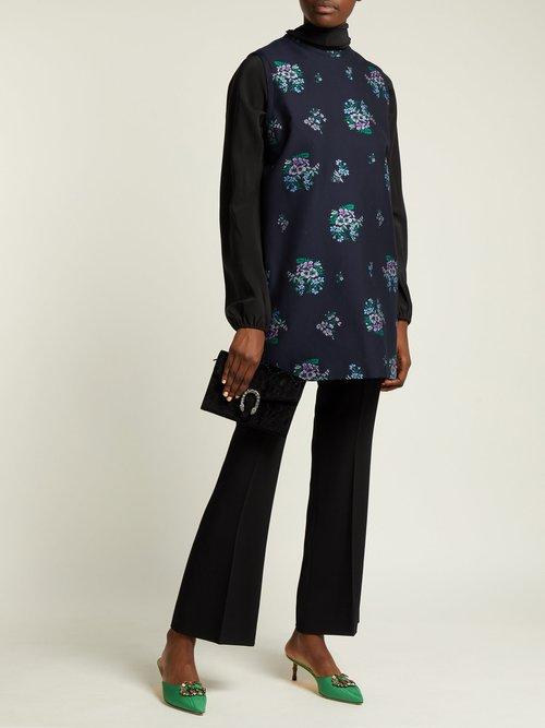 Dinoysus GG velvet mini shoulder bag by Gucci