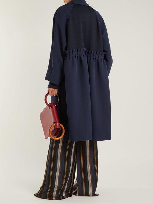 Kamri Silk Coat by Roksanda