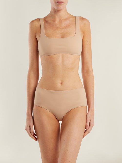 The Natalie mid-rise bikini briefs by Rochelle Sara