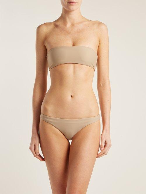 Bandeau bikini top by Kalmar