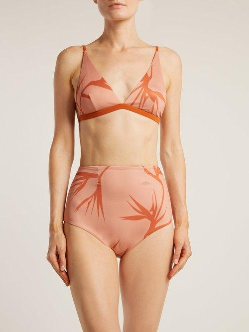High-rise triangle bikini by Haight