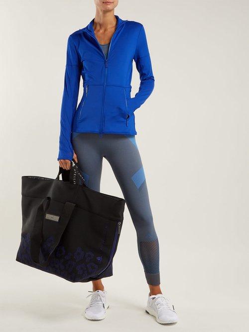 Oversized neoprene tote by Adidas By Stella Mccartney