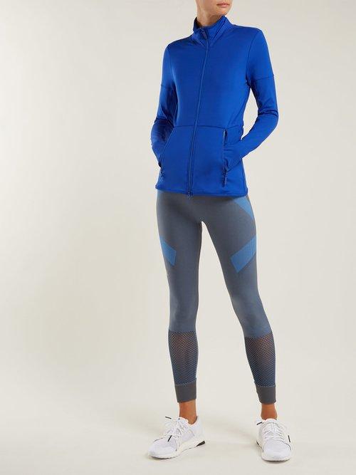 Performance Essentials Mid Layer Jacket by Adidas By Stella Mccartney