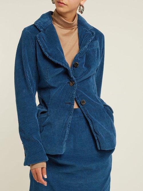 Twisted Corduroy Blazer by Vivienne Westwood Anglomania