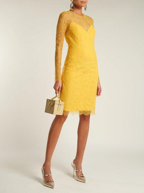 Julietta Lace And Silk Blend Dress by Emilio De La Morena
