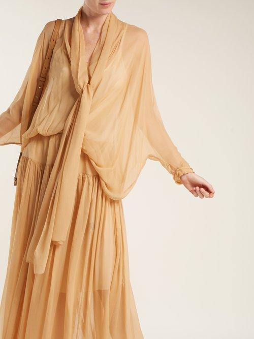 Lucia silk dress by Albus Lumen