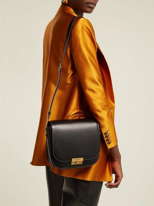 Betty leather satchel by Saint Laurent