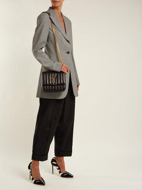 Vicky medium leather bag by Saint Laurent