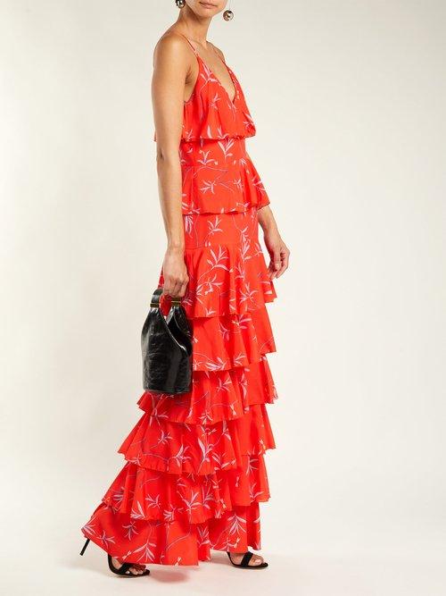 Filipa floral-print dress by Borgo De Nor