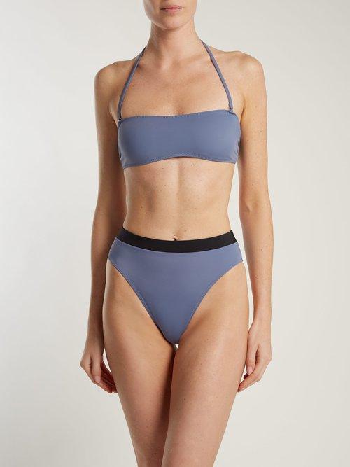 The Alexa high-rise bikini bottoms by Solid & Striped