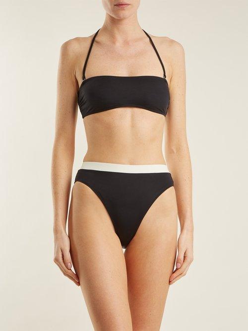 The Alexa high rise bikini briefs by Solid & Striped