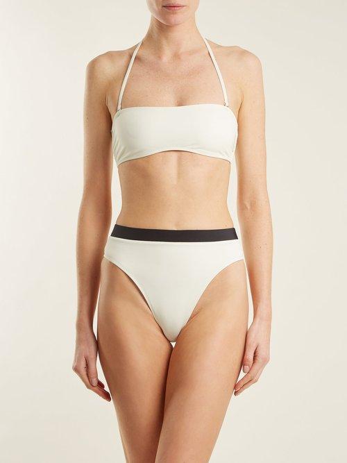 The Alexa high-waisted bikini briefs by Solid & Striped